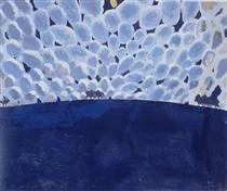 Moonlit Landscape - Cuno Amiet