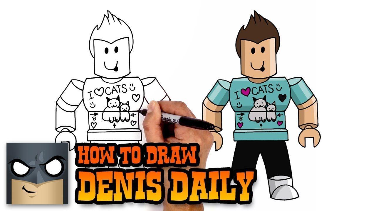 Pin By Arianna Davis On Roblox In 2020 Cartooning 4 Kids Easy Cartoon Drawings Drawing Tutorial Easy