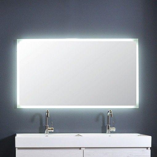 Ink spiegel SP7 120 x 80 cm met rondom indirecte LED verlichting ...