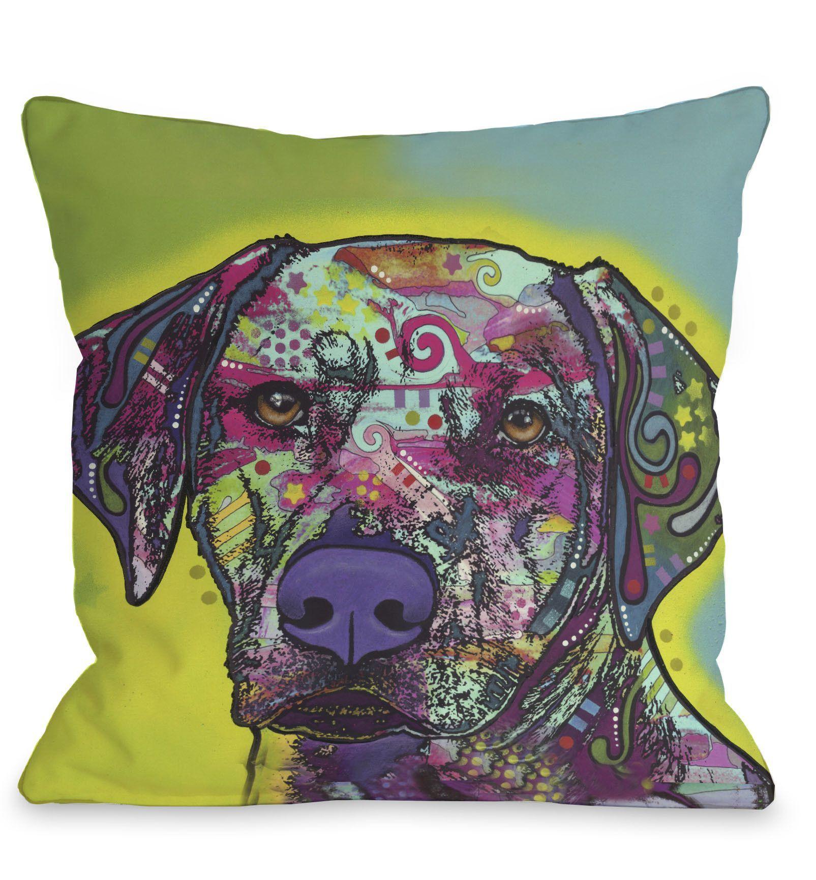 Doggy Décor Rhodesian Ridgeback Throw Pillow