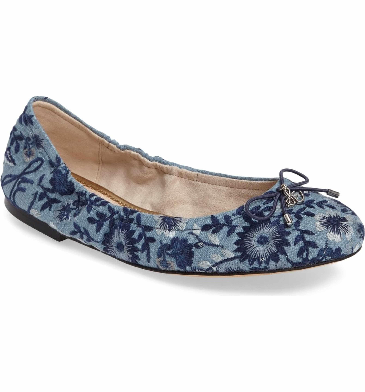 Bridal Shoes At Nordstrom: Main Image - Sam Edelman 'Felicia' Flat