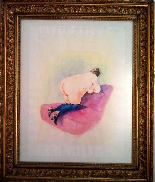 """Madame"" in Aquarell von art-mate auf DaWanda.com"