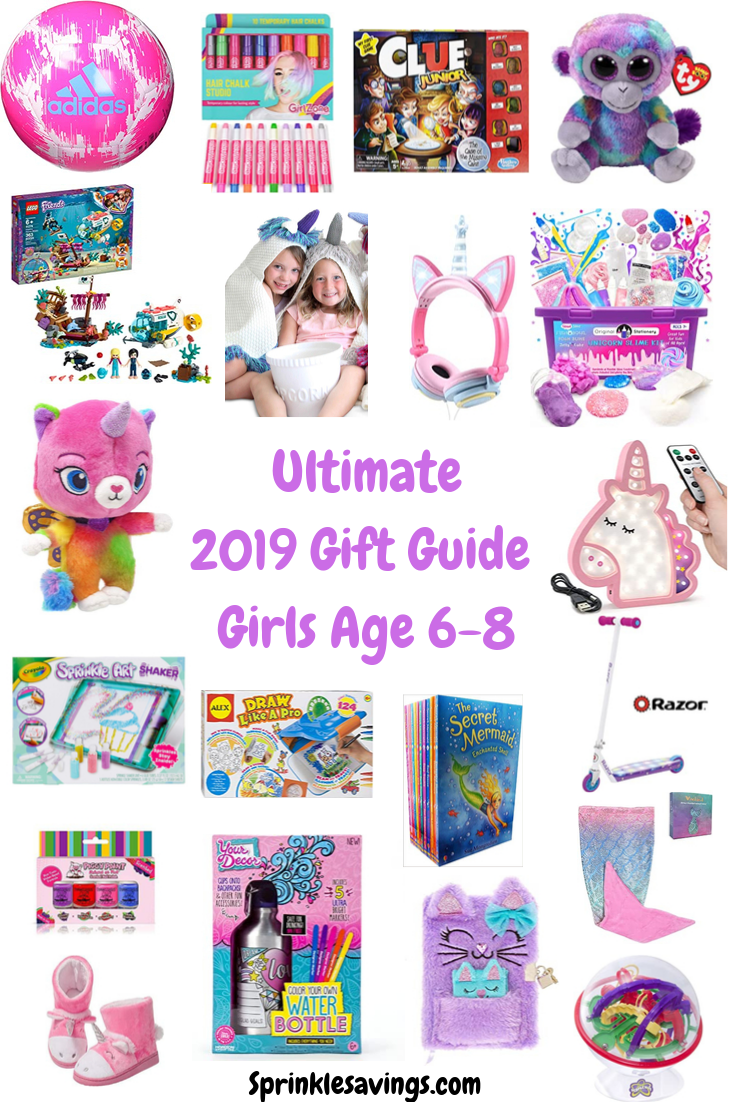 Girls Gift Guide Age 6 7 8 Girls Gift Guide Christmas Gifts For Girls Best Gifts For Girls