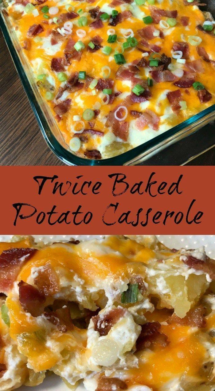 Twice Baked Potato Casserole Do you love twice baked potatoes, but need an easier way to make them?