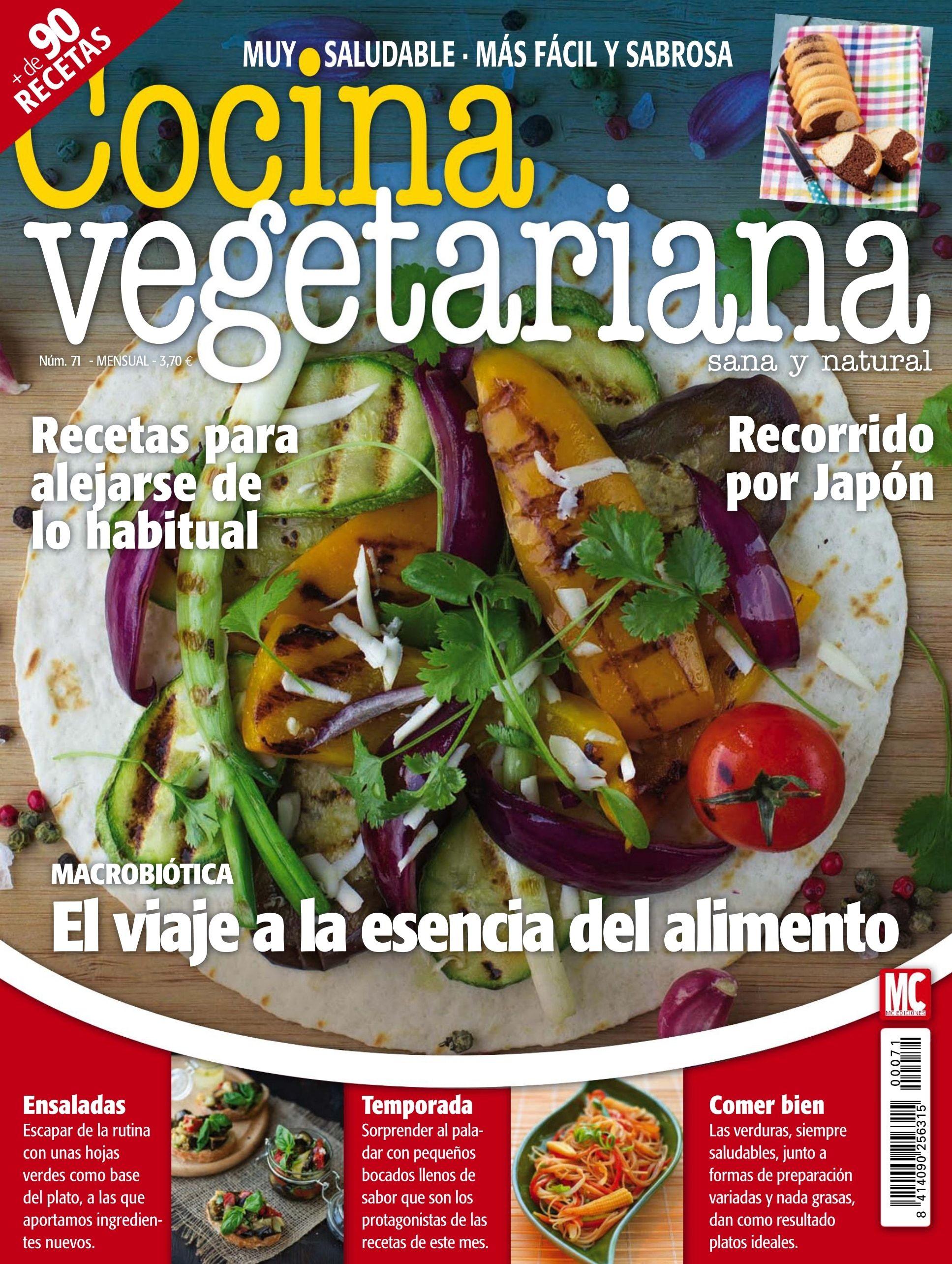 Revista Cocina Vegetariana | Cocina Vegetariana 71 Recetas Para Alejarse De Lo Habitural