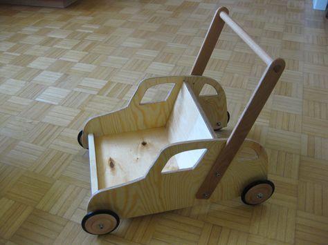 Laufwagen\/Lauflernwagen Bauanleitung zum selber bauen möbel - küche selber bauen anleitung