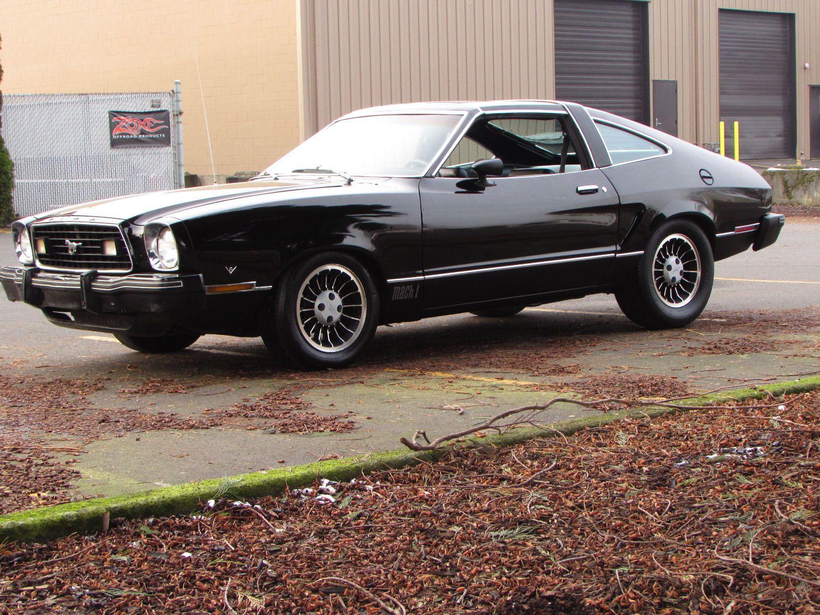 1977 Ford Mustang Mach 1 Ford Mustang Mustang Mach 1 Mustang Ii