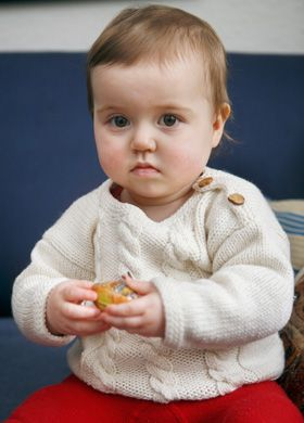 strikkeopskrifter baby born familie journalen