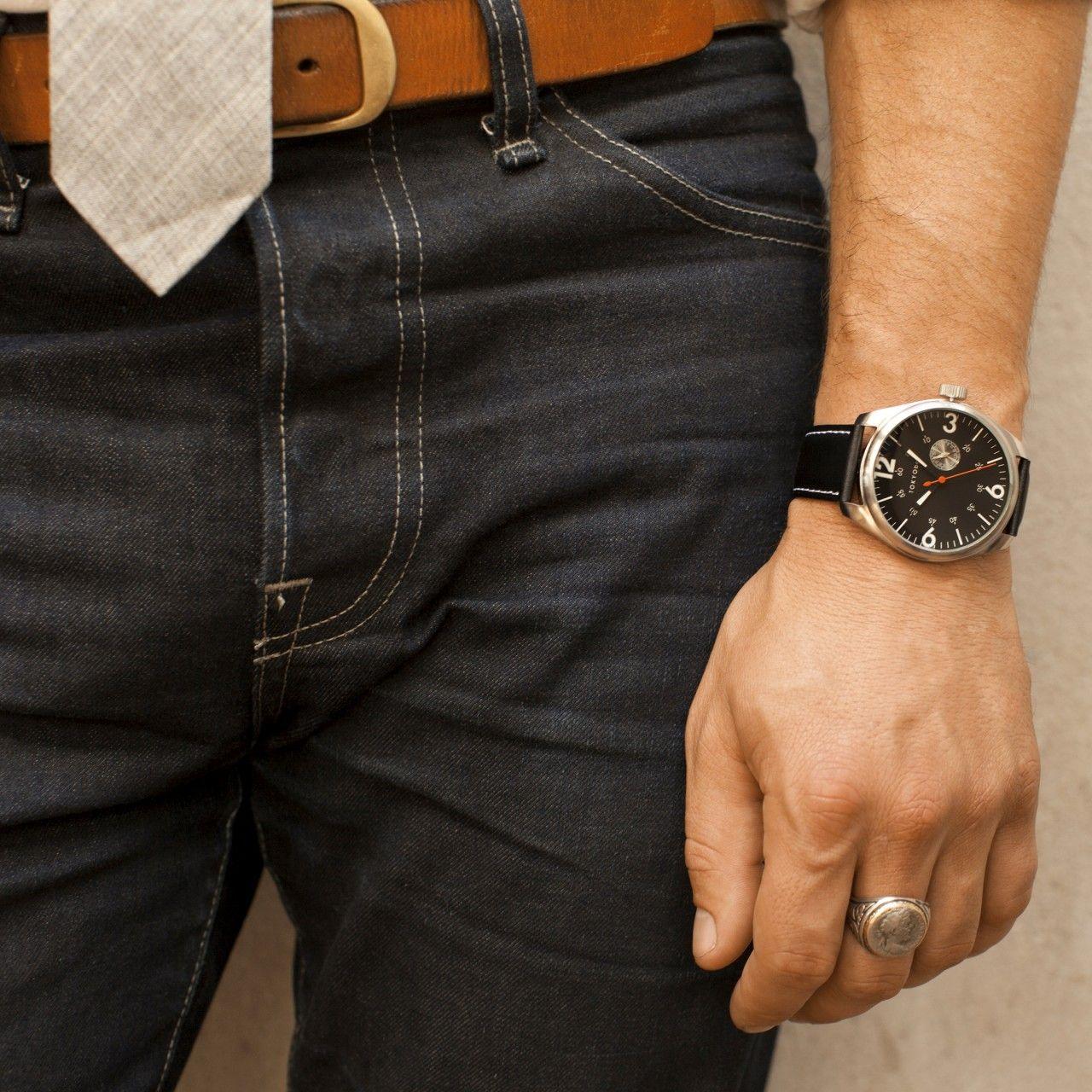 Jazz Black Watches Modrn Black Watch Modern Watches Running Fashion