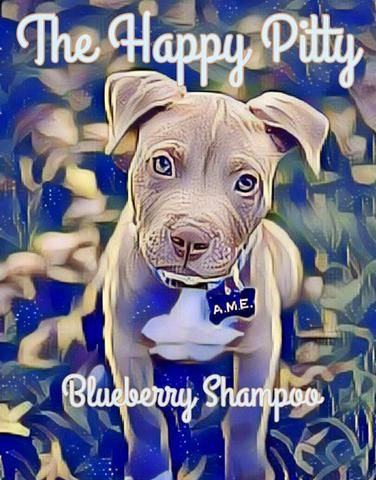 The Happy Pitty Blueberry Shampoo Love Your Pet Happy Pup
