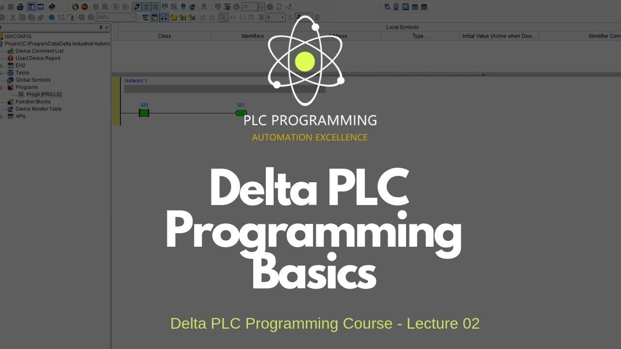 Delta PLC Programming Course Basics for Beginners | Plc in 2019