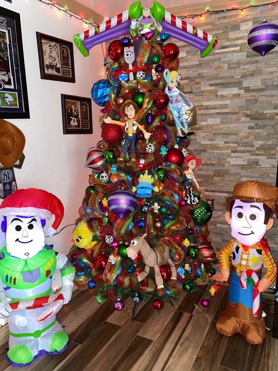 Toy Story inspired Christmas Tree! | Disney christmas tree