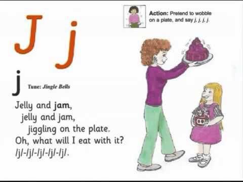 Jolly Phonics JOLLY PHONICS j song from Read Australia Having FUN