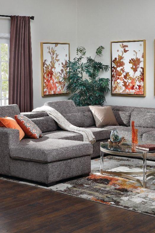 Allusion 3 Pc Sleeper Sectional Furniture Row In 2020 Home Decor Romantic Home Decor Cheap Dorm Decor