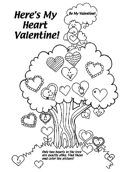 The Best Valentine's Coloring Pages (With images