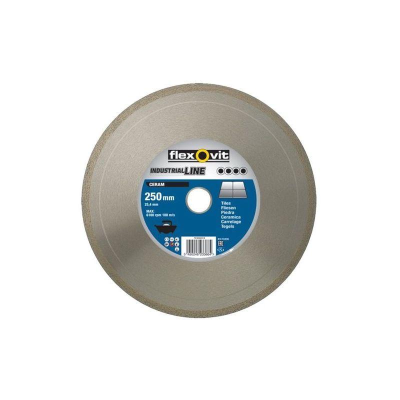 Disque Diamant De Tronconnage Industrialline Ceram O180x7x1 7x30 25 4mm Flexovit 70184623416
