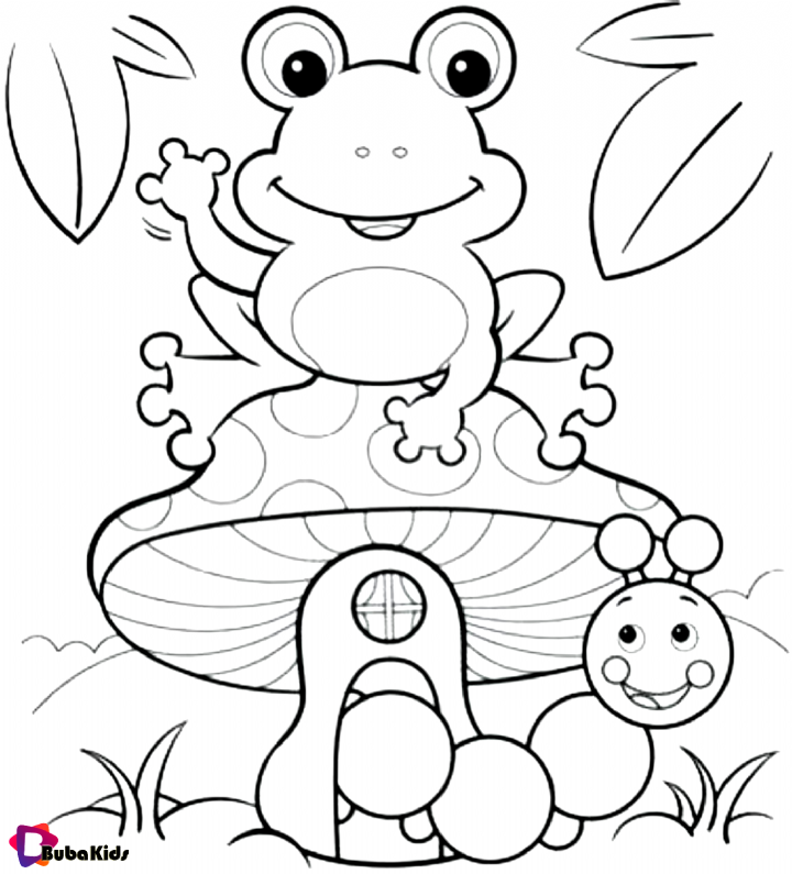 Free Printable Frog Coloring Pages Frog Toad Frog Toad Cartoon Coloring Pages Frog Coloring Pages Coloring Pages Free Coloring Pages