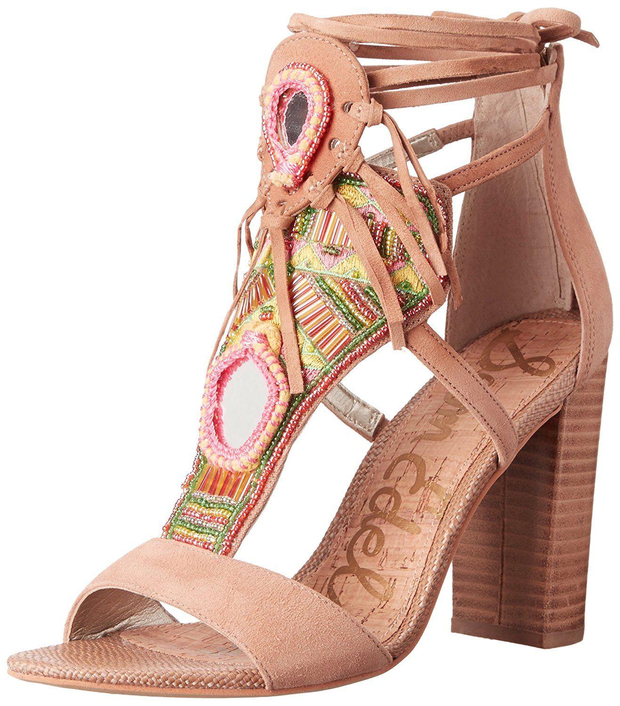 267eac692d6 Sam Edelman Women s Yvette Heeled Sandal   Review more details here   Block  heel sandals