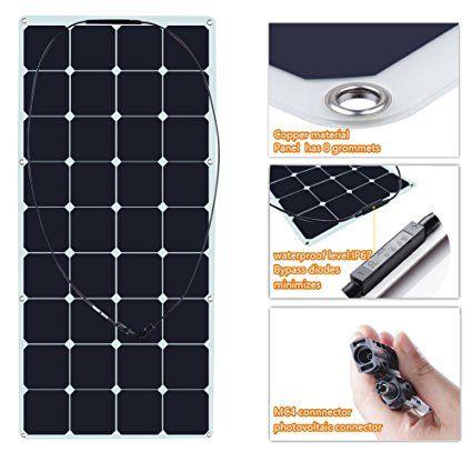 Sunkingdom 120w Sunpower Semi Flexible Solar Panel Biegsame Solar Ladegerat 120w Solar Solarpanel Solaranlage