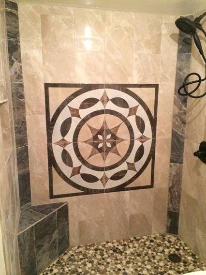 Vesubio bathroom installation shared through our Dallas branch  Tile by   interceramic. Vesubio bathroom installation shared through our Dallas branch