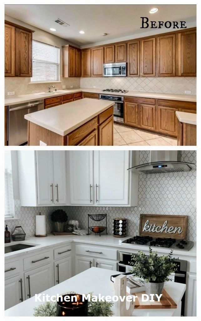 11 Diy Ideas For Kitchen Makeover 3 Cheap Kitchen Makeover