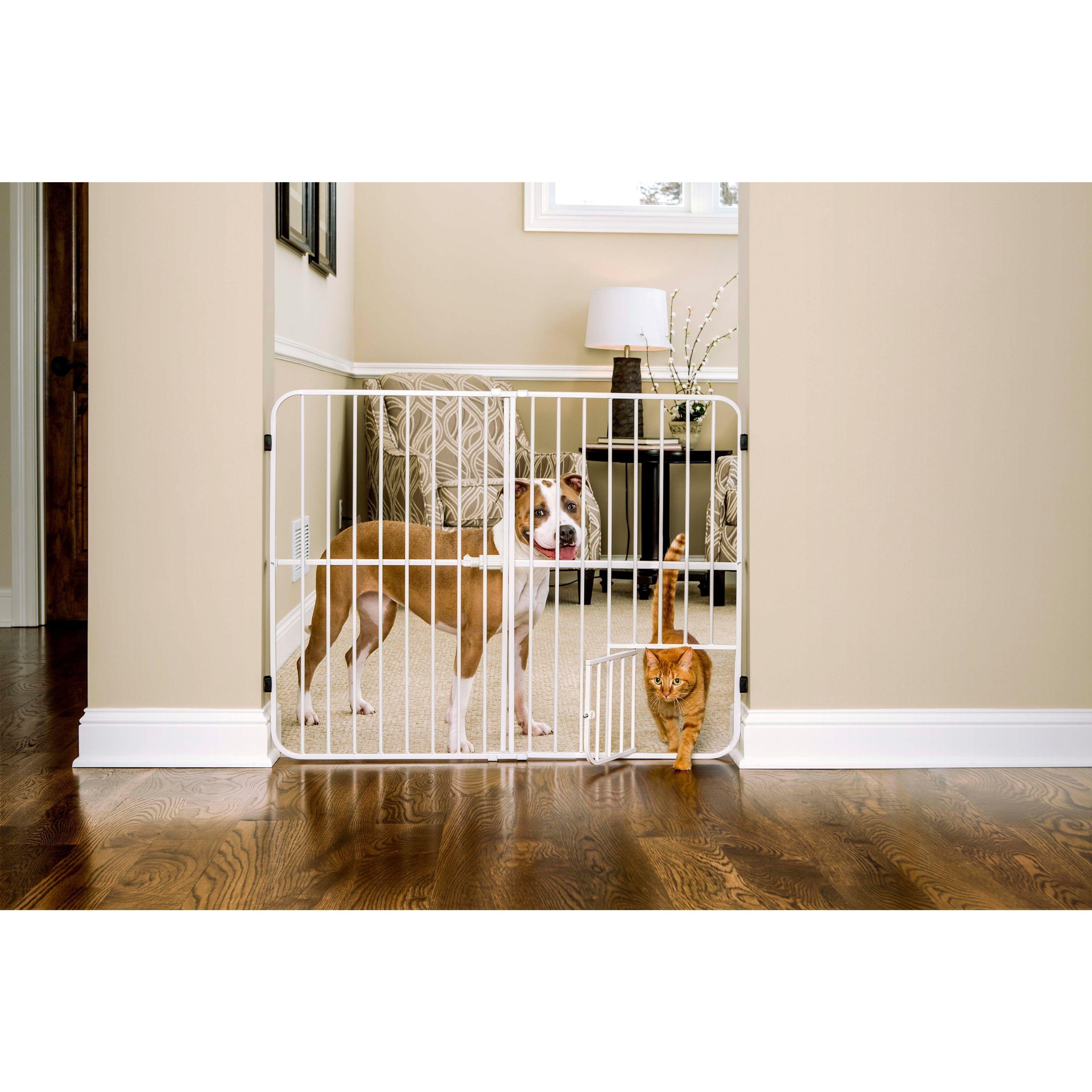 Carlson extra tall tuffy metal expandable pet gate