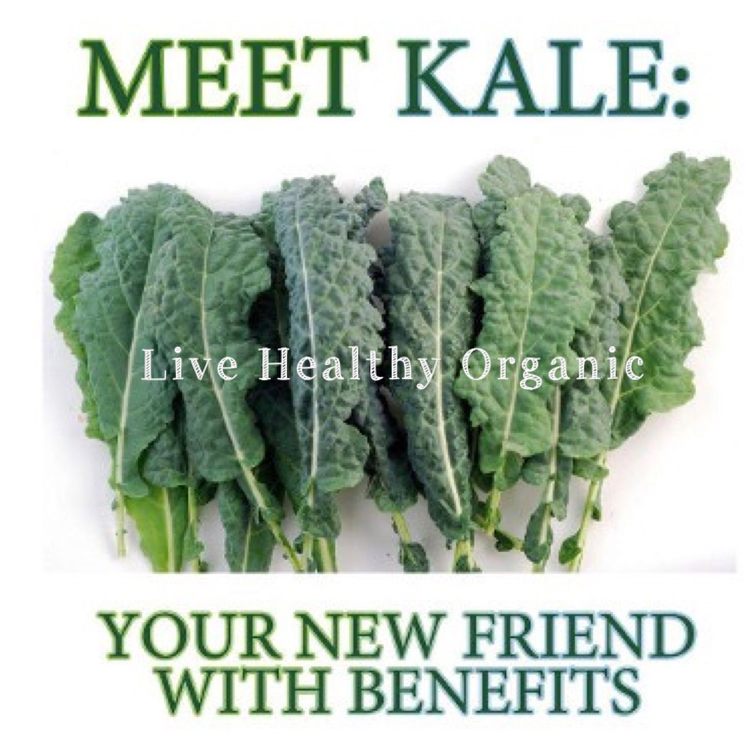 Kale-The Queen👑of Greens •Anti-inflammatory •Antioxidants •More iron than beef •More calcium than milk •684% vitamin K •134% vitamin C