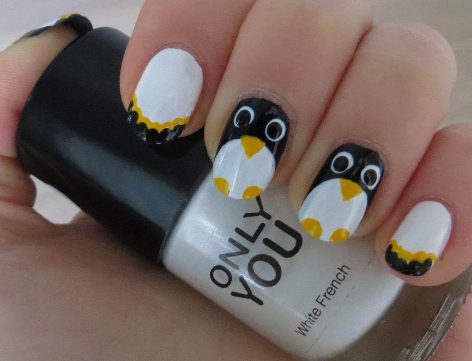 Penguins Nails, My nails