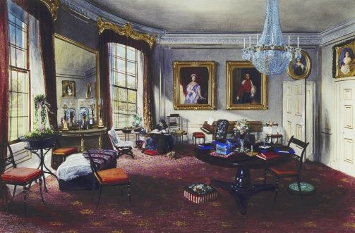 Frogmore House The Duchess Of Kent S Sitting Room Royal