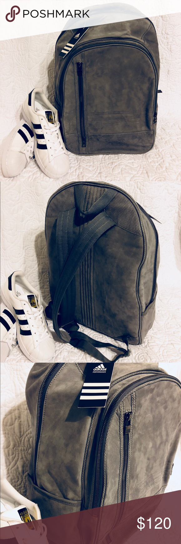 dbb92d67ef2f Super Rare Leather Backpack Super rare backpack by adidas. Comes new with  tag still attached