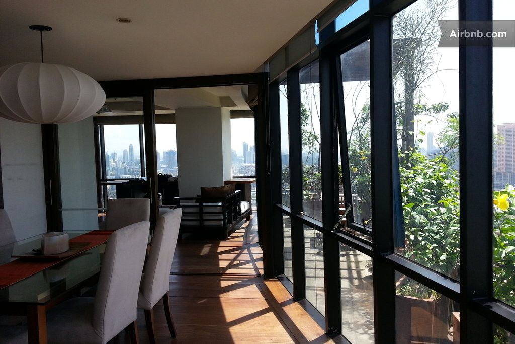 Apartment in Pasig City, Philippines  The apartment is on