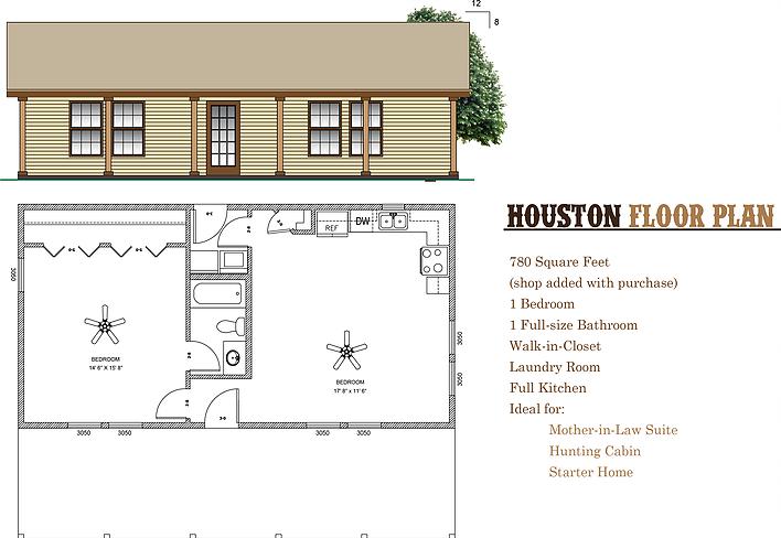 780 Sq Ft Barndominium Plan Designed By Rau Builders And Barndoplans Com Barndominium Floor Plans Metal Buildings