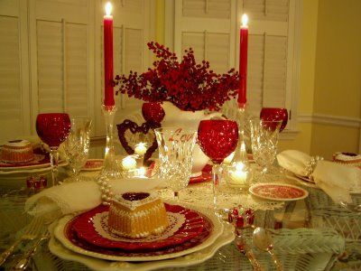 Romantic Valentine S Dinner Table Decoration For Valentine S Day