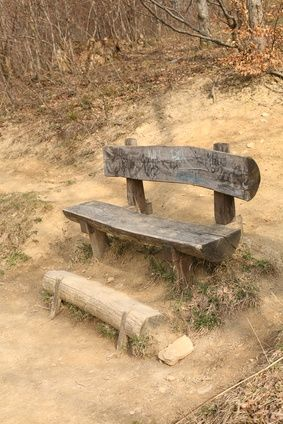 How To Build A Log Bench Ehow Diy Bench Outdoor Log Bench Outdoor Bench