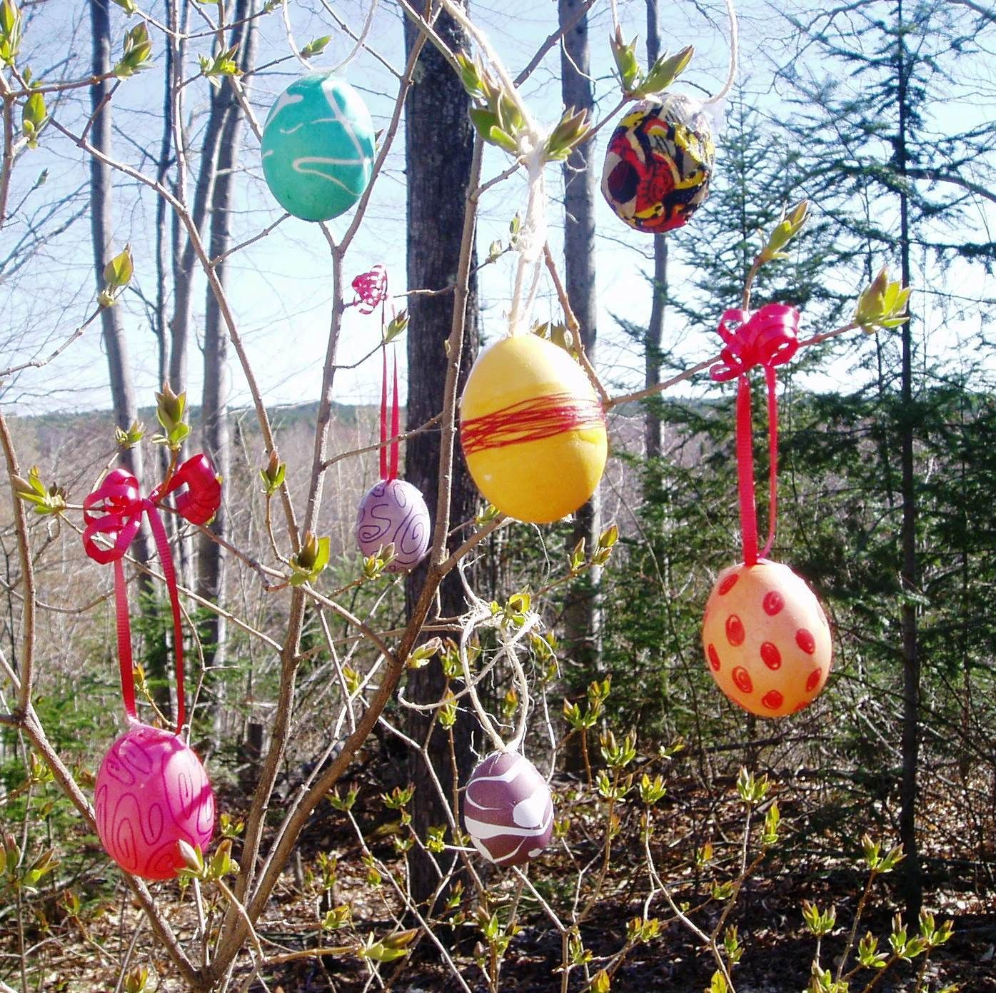 Egg hunting  Easter outdoor, Easter decorations outdoor, Easter