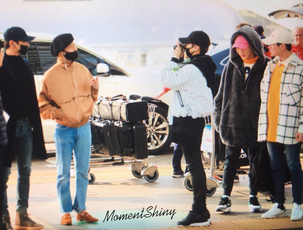 170318 #SHINee heading to Toronto #SWCV in North America