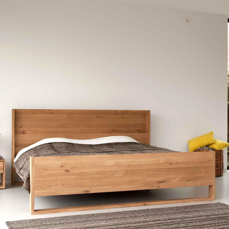 Ethnicraft Nordic Oak Bed Solid Wood Furniture Eichenbetten