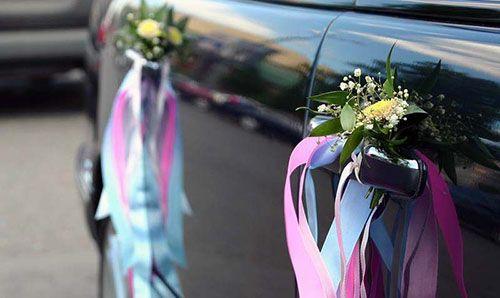 Украшение машин на свадьбу своими руками: мастер-класс с ...