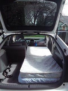 Starting To Pack Prius Camping Car Camper Suv Camping