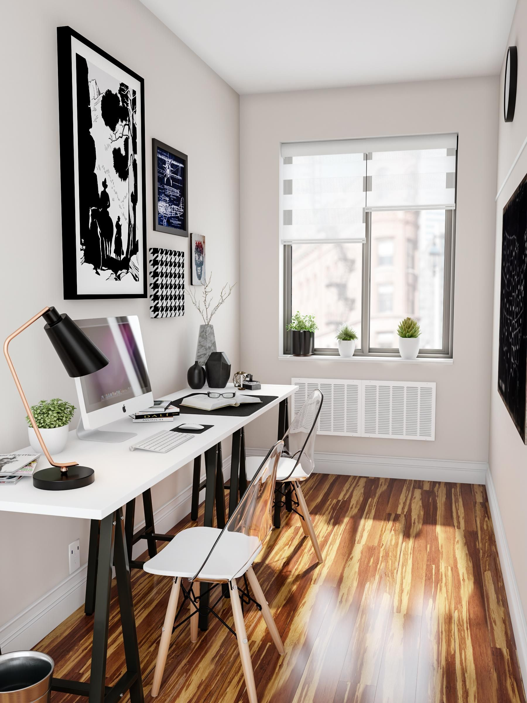 Make The Office Matter As Much As Every Other Room For A Small Or