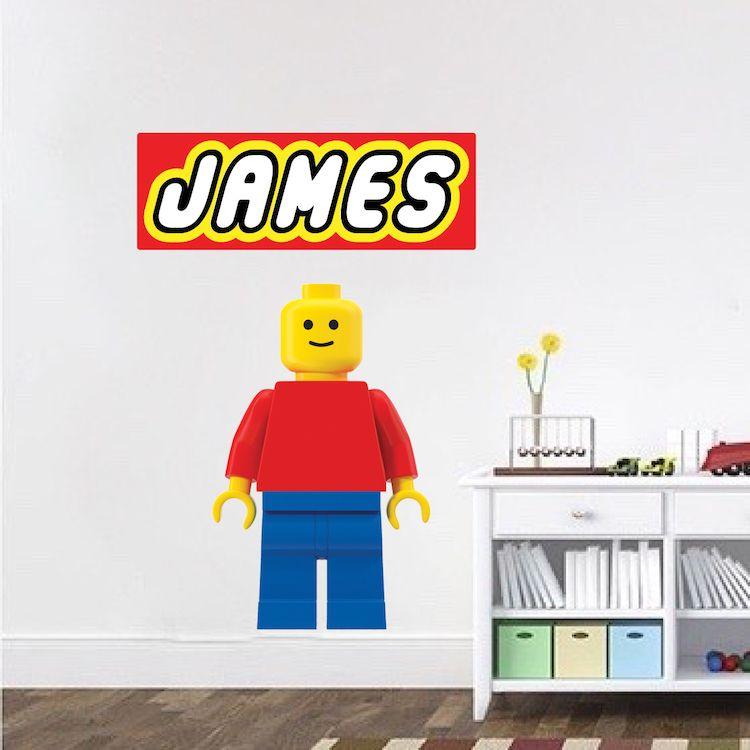 Lego Wall Decal Designs   Lego Movie Wall Design   Custom Lego Theme Party  Decoation Designs | Primedecals | Kidsu0027 Room Decals | Pinterest | Lego Wall,  Wall ...