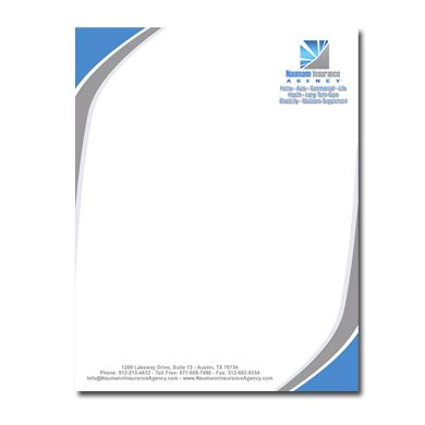 Business Logo Design · Letterhead  Free Letterhead Samples