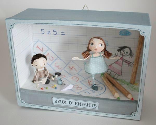 jeux d 39 enfants 2 photo de boites et cadres disponibles available boxes and frames. Black Bedroom Furniture Sets. Home Design Ideas