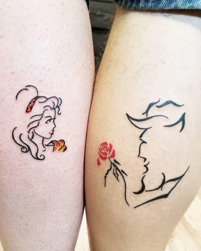 1001 + Ideen und Bilder zum Thema Partnertattoo   Tattoo