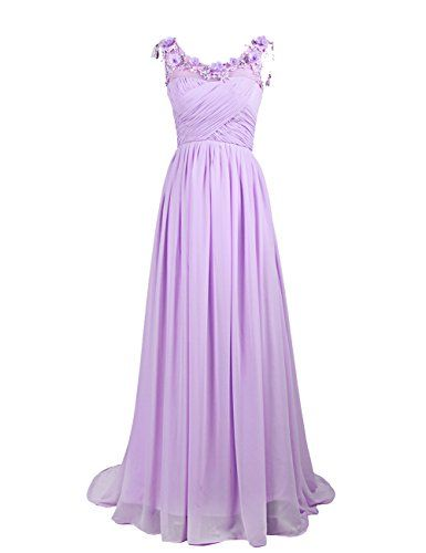 Dresstells Long Chiffon Prom Dress with Handmade Flowers Wedding Dress Lavender Size 22W Dresstells http://www.amazon.co.uk/dp/B00OFRG9F4/ref=cm_sw_r_pi_dp_BarEwb14GKR09