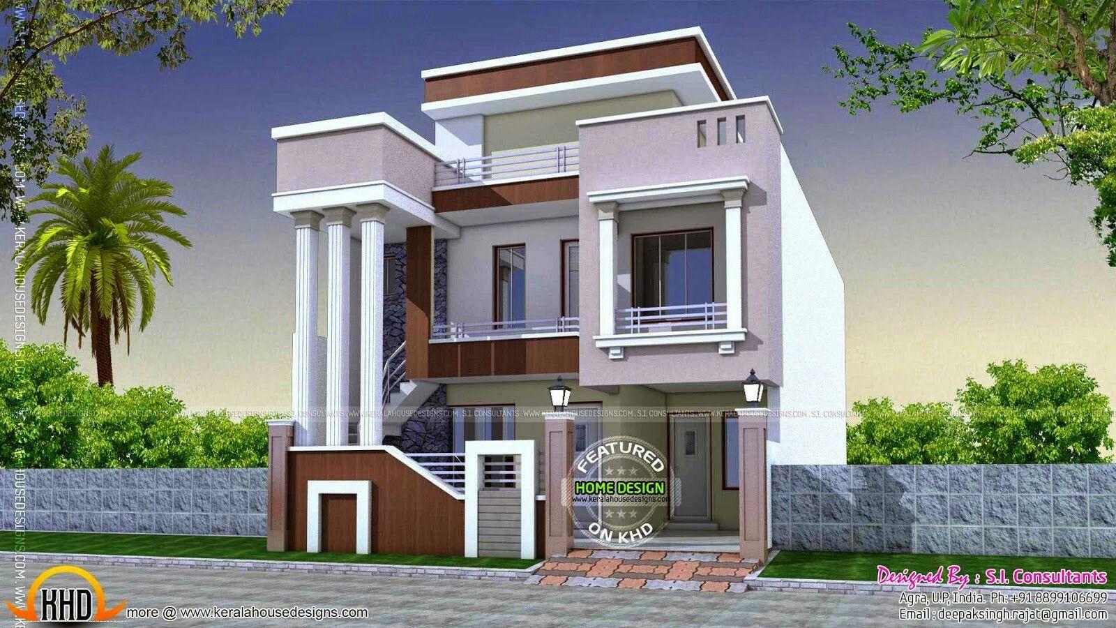 Moderne Hausentwürfe pin azhar masood auf house elevation indian compact