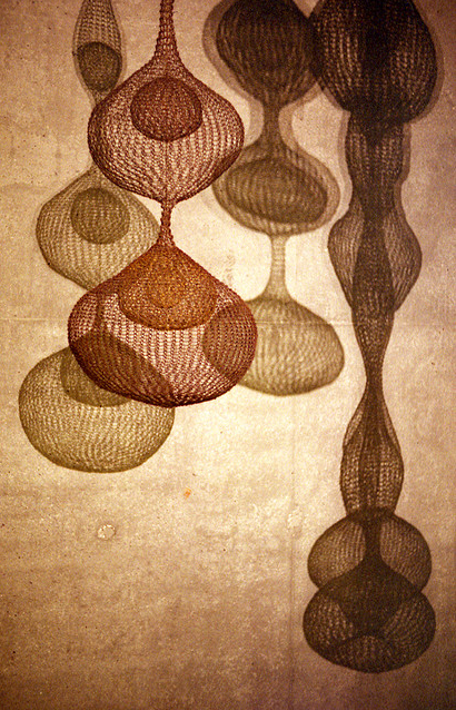 ruth asawa. crochet wire sculpture