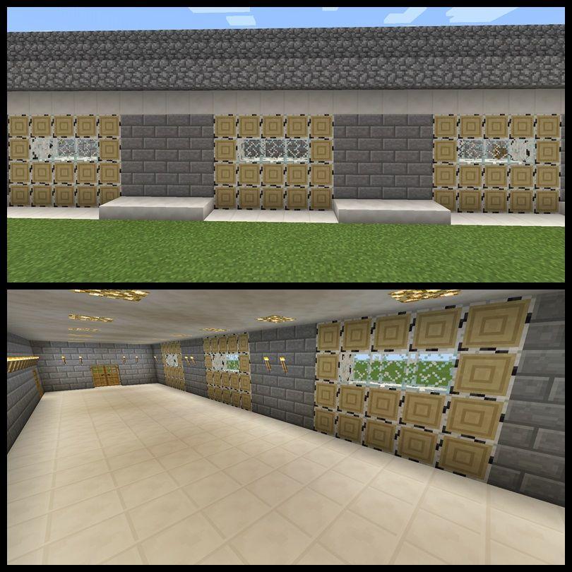 Amazing Garage Designs: Minecraft Garage Door Parking