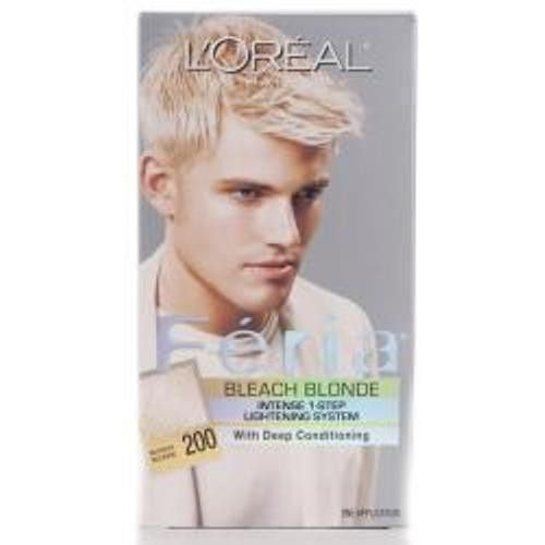 Loreal Feria 200 Men Bleach Blonde 3 Pk Men Hair Color