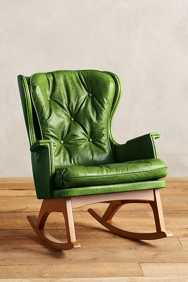 If You Re Looking For A Non Traditional Nursing Chair Green